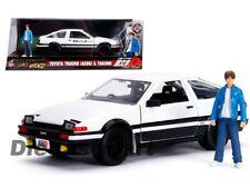 Toyota Trueno AE86 Initial D W/ Takumi Figure Hollywood Rides 1:24 By Jada 99733