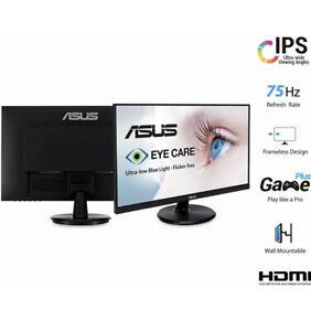 """ASUS VA24D 23.8"""" Full HD AMD FreeSync 1920X1080 Gaming Monitor Fast Shipping 👀"""