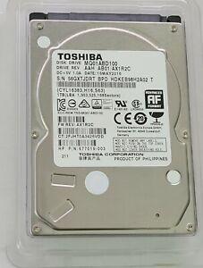 "Toshiba MQ01ABD100 1TB 2.5"" SATA II (3.0Gb/s) Laptop Hard Drive"