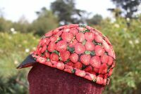 CYCLING CAP POOR LITTLE CAT  HANDMADE IN USA   S M L