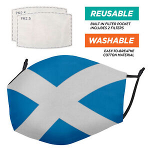 The Flags Range - Face Masks - 2 Filters Included