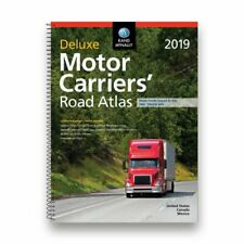 Rand McNally 2018 Deluxe Motor Carriers Road Atlas Laminated Pages Spiral Bound