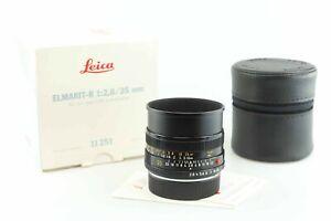 "Leica 11251 Elmarit R 2,8 35 mm E55 ""MADE IN GERMANY"" Leitz 89371"