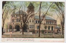 Vintage UDB Osborn Hall Yale College New Haven CT Postcard Ivy League