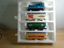 OO GAUGE LIMA GOODS TRAINS WITH 3 WAGONS RUNNING AND GOOD CONDITION