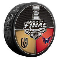 2018 Stanley Cup Final Dueling Puck Vegas Golden Knights vs Washington Capitals