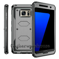 For Samsung Galaxy S7/Edge S6 S8 Note 8 Phone Case Hybrid Shockproof Armor Cover