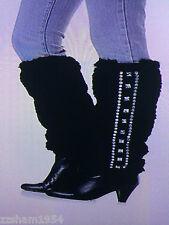 Joan Boyce Faux Fur Leg Warmers MSRP: $59.95