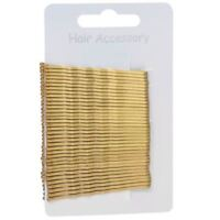 36 Standard 4.5cm Silver or Gold/Blonde Hair Bobby Pins Grips Clips