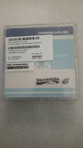 1x Tandberg LTO6 2.5/ 6.25TB Ultrium 6 Data Cartridge New Sealed