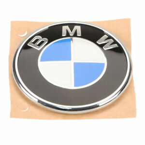 """🔥 Genuine NEW Emblem """"Roundel"""" for Trunk Lid For BMW E46 330ci 325ci M3 🔥"""