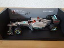 Michael Schumacher Mercedes AMG Petronas 2012 Formel 1
