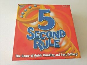 University Game - 5 Second Rule / Family & Friends Game (BRAND NEW!)