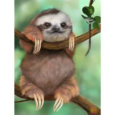 5D Sloth Diamond Painting Kits Diy Full Drill Rhinestone Animal Diamond Picture
