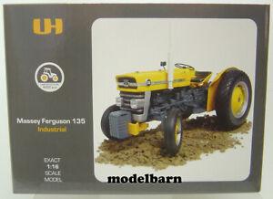 1/16 Massey Ferguson 135 Industrial (yellow) Universal Hobbies UH-2822