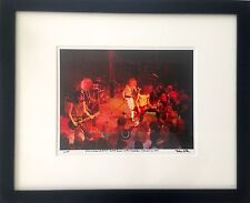 Guns N Roses Rocket Queen debut Slash Axl Rose fine art photo 1985 signed 7/100