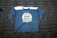 North American Hockey practice Jersey Shirt Team Adult Size XL Game worn gear