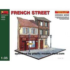 1/35 FRENCH STREET DIORAMA MINIART 36006