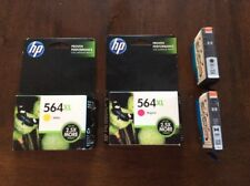 Genuine HP 564XL High Yield Black, Magenta And Yellow Ink Cartridges