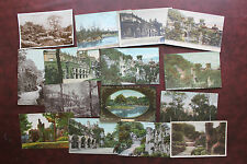 15 BEAUMONT PARK HUDDERSFIELD WEST YORKS POSTCARDS COLLECTION USED/UNUSED NICE
