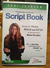 Dani Johnson Script Book: Prospecting and Closing Free Shipping