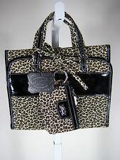 FLAUNT FASHION Leopard Print Cosmetic Travel Bag & Coin Purse NWT