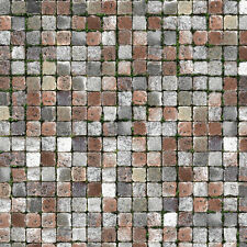 @ 5 Sheets Self Adhesive Cobblestone Paper walkway 1/6 Code s4Bc1