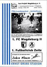 FSA-Landespokal 1998/99 1. FC Magdeburg II - 1. FC Zeitz / FV Dresden-Nord
