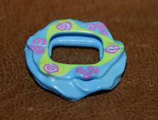 Playmobil accessoire tutu bleu dessin roses enfant princesse ref cc