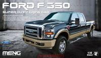 Meng 1:35 VS-006 Ford F-350 Super Duty Crew Cab Pickup Truck - Plastic Model Kit