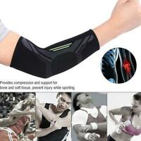 1pc Black Sports Elbow Support Protector Brace Guard Protective Arm Sleeve Hot