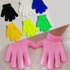 Hot Winter Warm Knitted Children Gloves Mittens Kids Full Finger Gloves