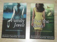 LOT OF DENISE GROVER SWANK FAMILY JEWELS & FOR THE BIRDS ROSE GARDNER INVESTIGAT