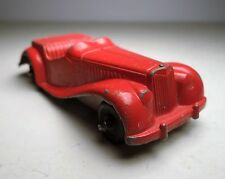 Tootsietoy Red Classic MG Convertible Car Toy