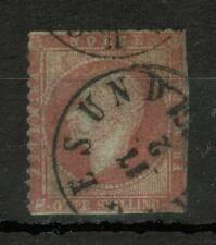 Norway Sc#5 8Sk Brown Carmine #4403