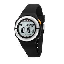 Orologio Donna Sector Ex-25 38mm digital black R3251279003 Cardiofrequenzimetro