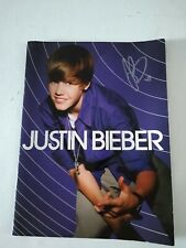 Justin Bieber's Picture  book My World Tour  (Signed)