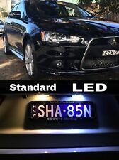 MITSUBISHI LANCER LICENSE PLATE LED LIGHTS CJ Model Sedan & Hatch 2008+