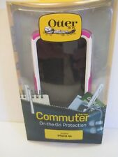 Otterbox Commuter Series Case for Apple iPhone 4S Pink & White NEW In Package