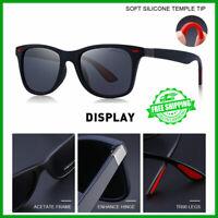 Neues DESIGN Classic Polarized Retro Sonnenbrille Damen Herren Autobrille
