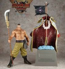 One Piece Grandline Men White Beard Newgate Shiro Hige + grave Banpresto figure