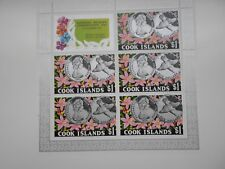 1976 COOK ISLAND  MINI-SHEETS National Wildlife Conservation Day  . MNH