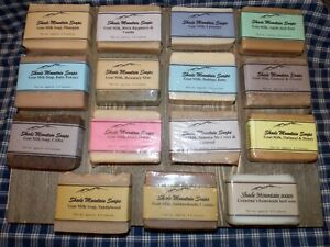 Homemade Goat Milk Soaps