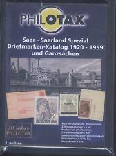 Philotax Briefmarken-Katalog Saar-Saarland 1920-1959 auf DVD Vollversion