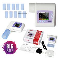 SP10 Digital Spirometer Lung Breathing Diagnostic Spirometry Volumetric CONTEC