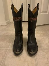 Vintage Auth Harley Davidson Leather Western Boots Womens 7.5
