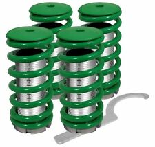 94-97 98-01 ACURA INTEGRA DC2 LS RS SCALE ADJUSTABLE COILOVER SLEEVES KIT GREEN
