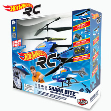 Hot Wheels RC Shark Bite 2 Channel Gyro Helicopter Loc1a