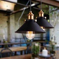 Vintage Industrial Pendant Antique Loft Bar Ceiling Light Metal Lamp Shade E27