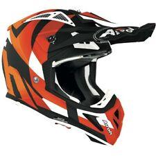 Airoh Aviator As Truco Naranja Mate Motocross MX Enduro Moto de Cross Atv Casco